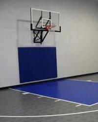 Basketball indoor court