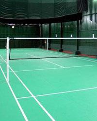 Badminton indoor court
